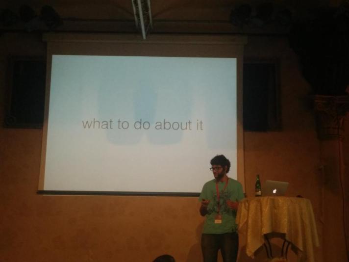 Speaking at WTD